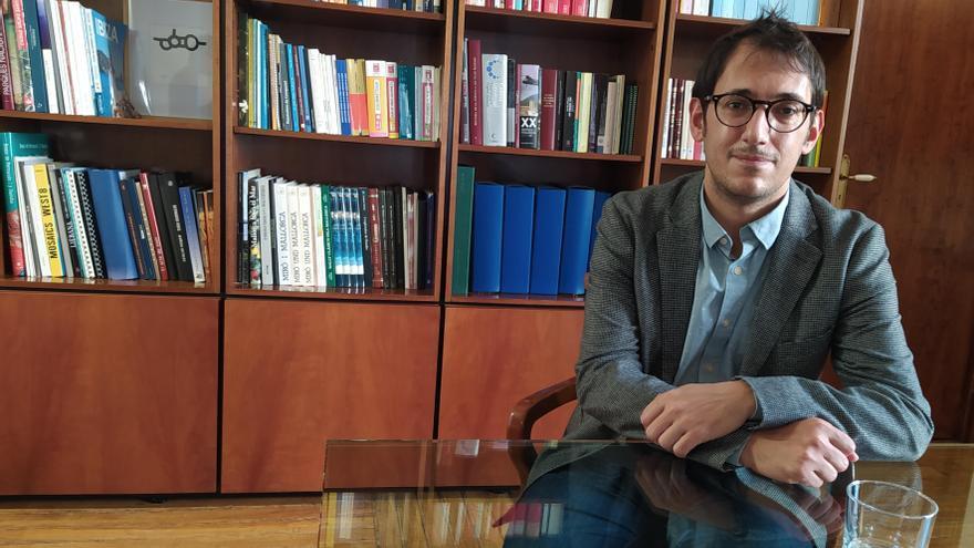 Iago Negueruela, conseller de Modelo Económico, Turismo y Trabajo del Govern balear.