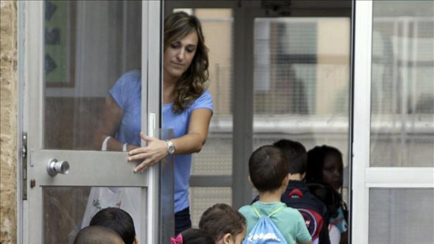 Elegir colegio para los niños o la preocupación de temporada.\ Efe