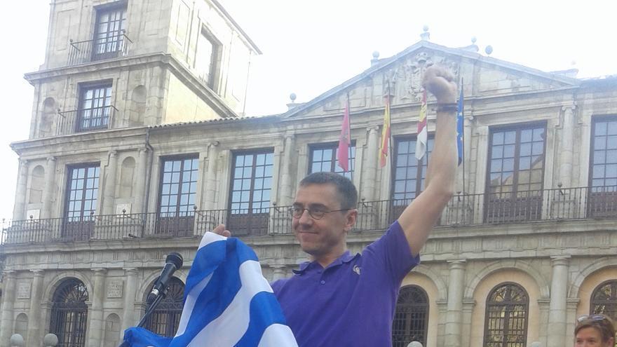 Juan Carlos Monedero en Toledo / Foto: eldiarioclm.es