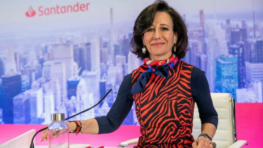 Ana Botín adquiere un millón de acciones del Santander por unos 3,7 millones