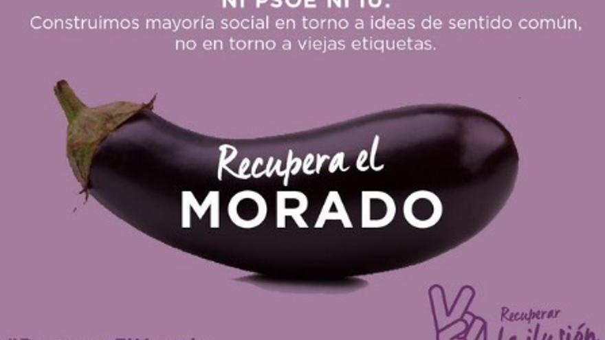 Imagen de la campaña del equipo de Iñigo Errejón