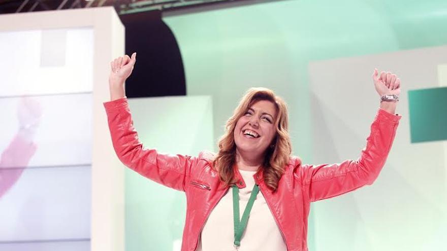 Susana Díaz ha sido proclamada secretaria general del PSOE-A sin votos en contra.