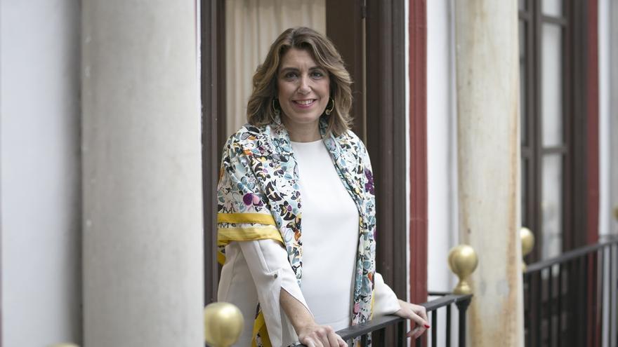 """Díaz reivindica la ley contra la violencia machista en su aniversario y pide no dar pasos atrás: """"La lucha es de todos"""""""