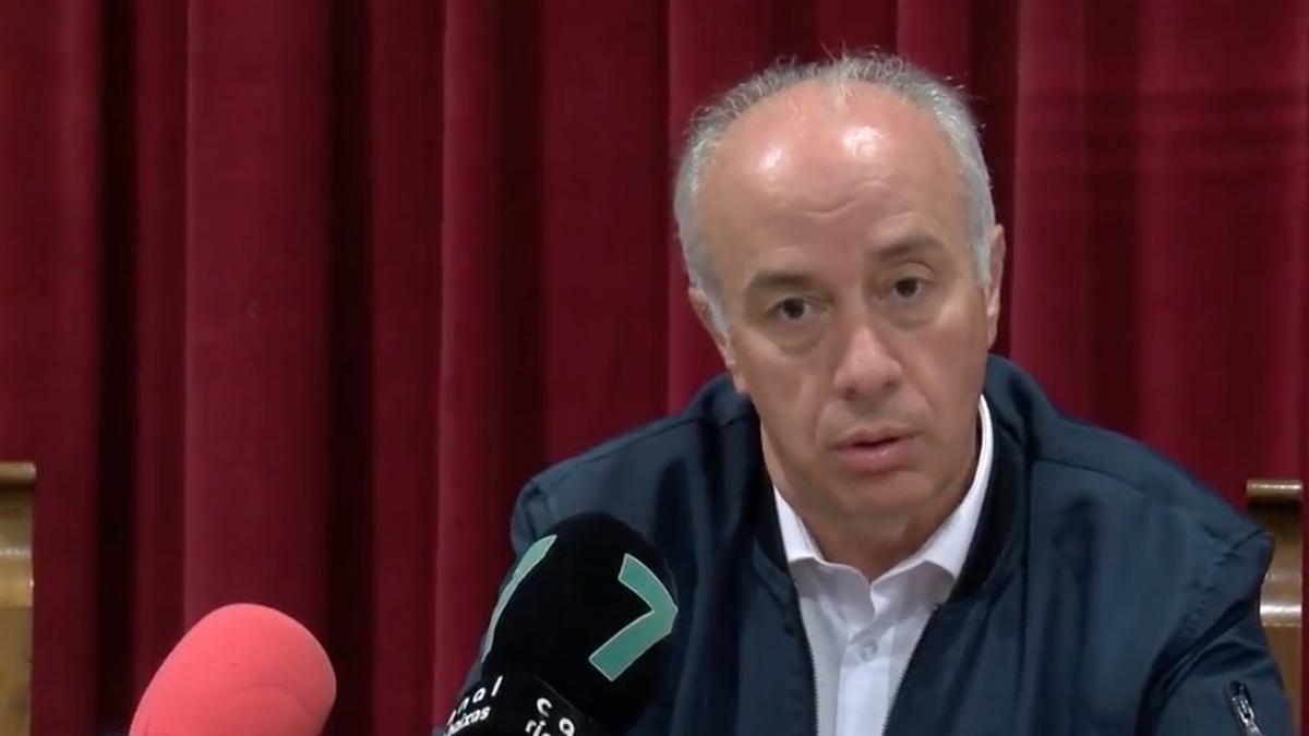 Gonzalo Durán durante una comparecencia.