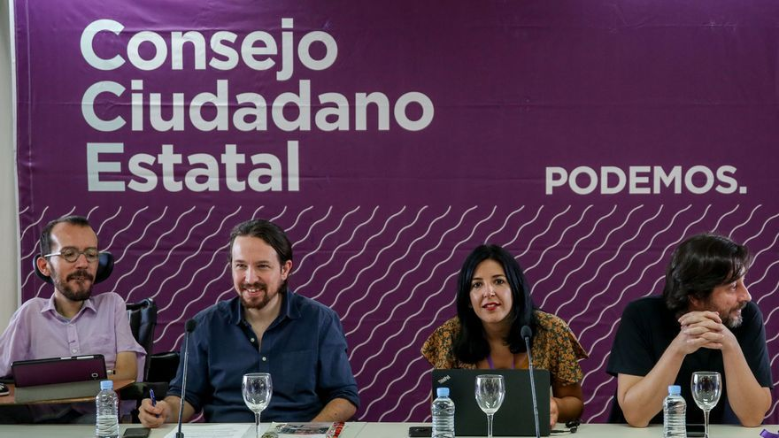 Podemos celebra su Consejo Ciudadano Estatal este lunes para analizar el 28A y afrontar los comicios del 26M