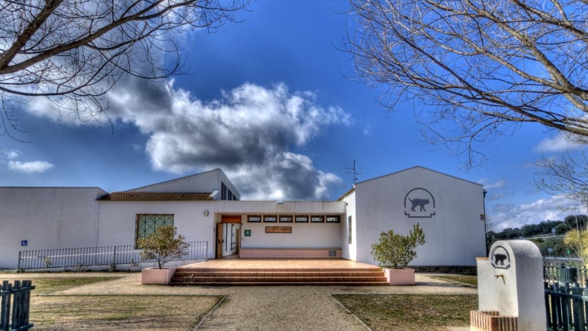 Centro de visitantes de Venta Nueva, en Cardeña.