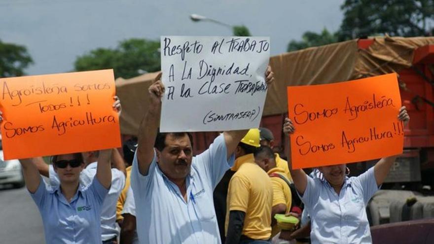 De las protestas en AgroIsleña #9