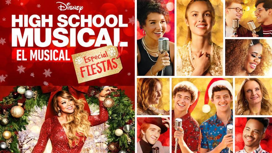 'High School Musical: Especial Fiestas' y Mariah Carey