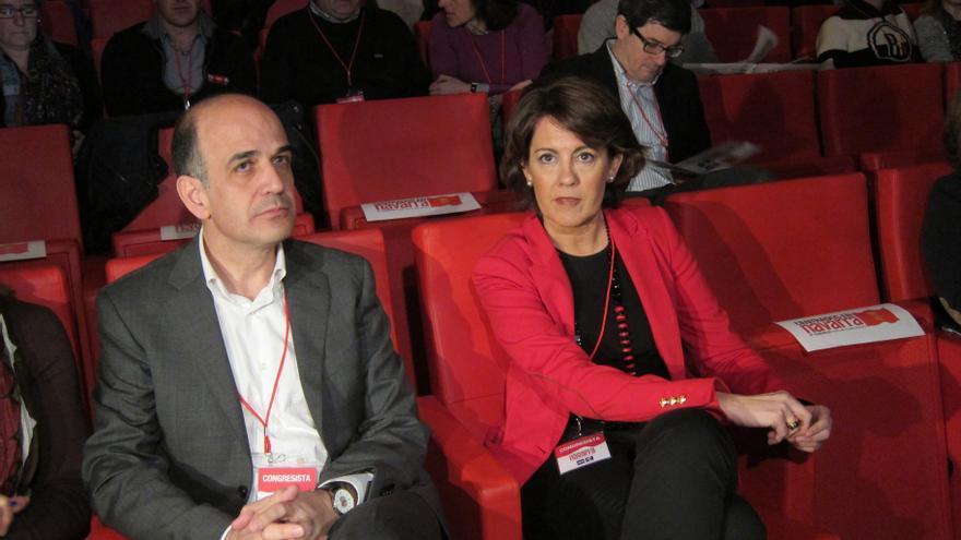 Yolanda Barcina sale fortalecida del Congreso de UPN para gestionar el Gobierno de Navarra