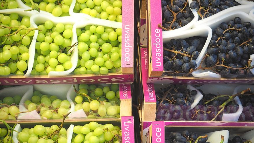 Uvas en Mercamadrid