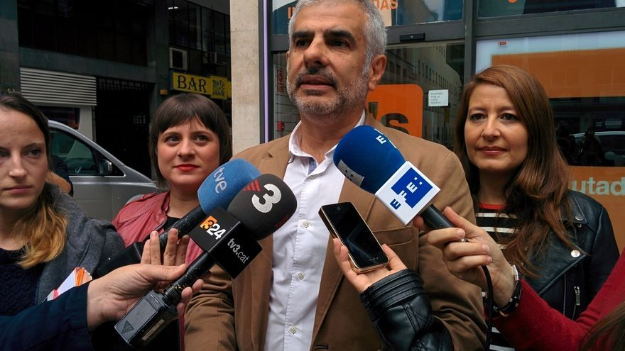 """Carrizosa (C's) sobre los actos de apoyo a Venturós: """"He visto bodas con más asistentes"""""""