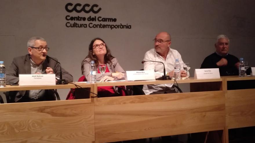Adolf Beltran, Mónica Oltra, Xavier Rius i Gustau Muñoz