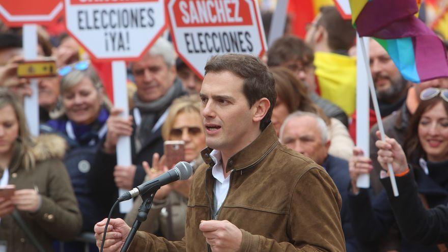 """Rivera exige que no se indulte a los """"golpistas"""" en el juicio del procés"""