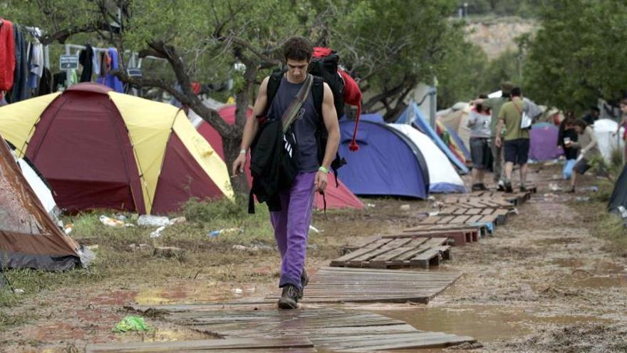 Suspenden el festival Sansan de Benicàssim por el riesgo de fuertes lluvias