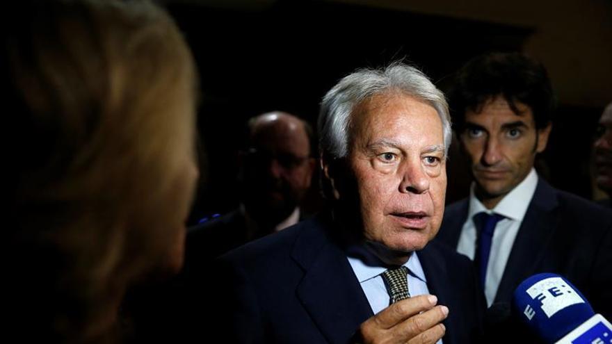 El expresidente Felipe González, en una imagen de archivo.