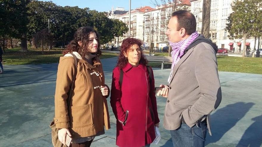 Dirigentes de Podemos Cantabria presentan la propuesta 'Recuperar la ilusión'
