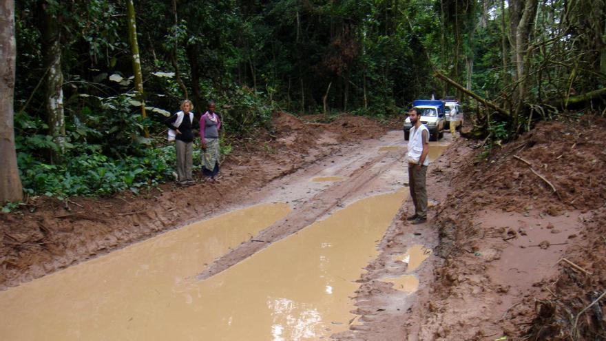 Llegar a los pigmeos del norte de Congo fue un reto logístico para la ONG / Benoit Finck/MSF