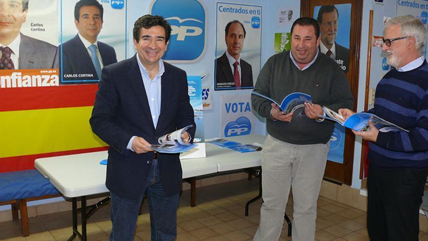El PP, encabezado por Carlos Cortina, gobierna en Astillero con mayoría absoluta.