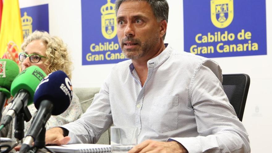 Miguel Ángel Rodríguez, consejero del Cabildo de Gran Canaria. (Alejandro Ramos).