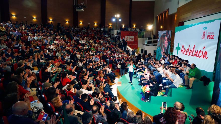 El PSOE-A fue el único grupo que optó por créditos para la campaña del 2D, a la que destinó más de 3,9 millones