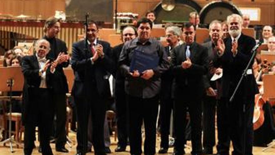 Víctor Ibarra, ganador del II Concurso Internacional de Composición Auditorio Na