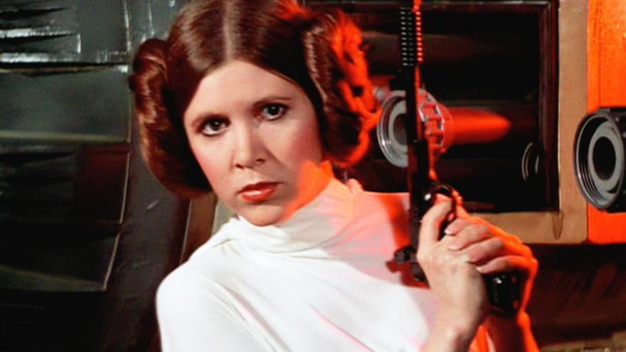 La princesa Leia Organa