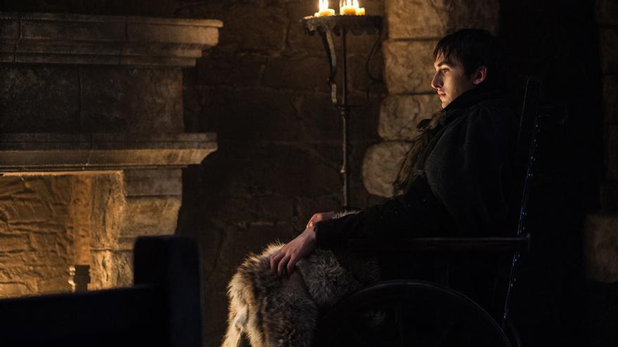 Bran Stark, en el 7x07 de Juego de Tronos