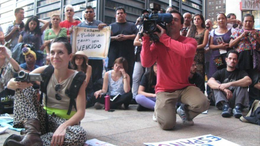 Asamblea en español, Occupy en Zuccotti