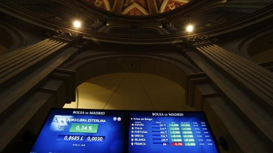 El interés del bono a diez años cae al 3,692 por ciento, mínimo desde octubre de 2006
