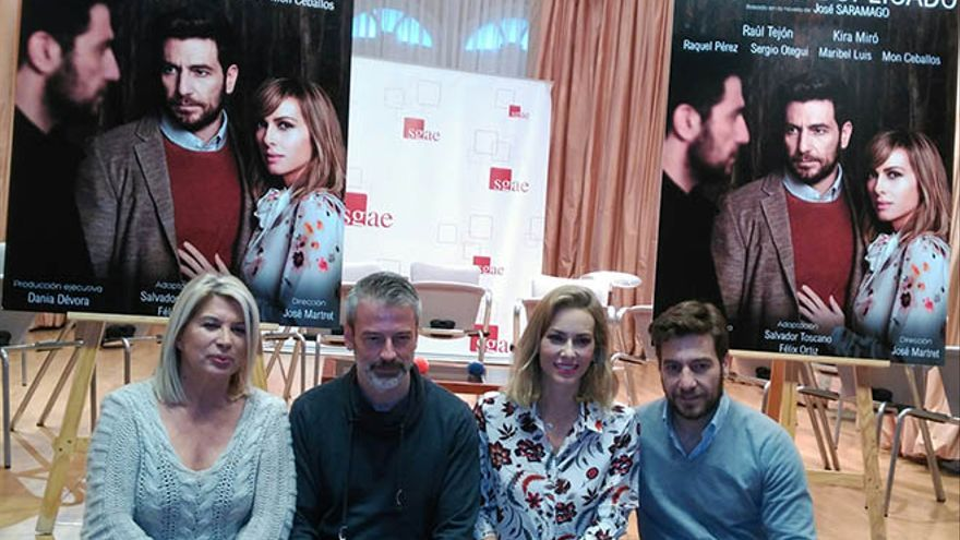 Actores de la adaptación de 'El hombre duplicado' de Saramago