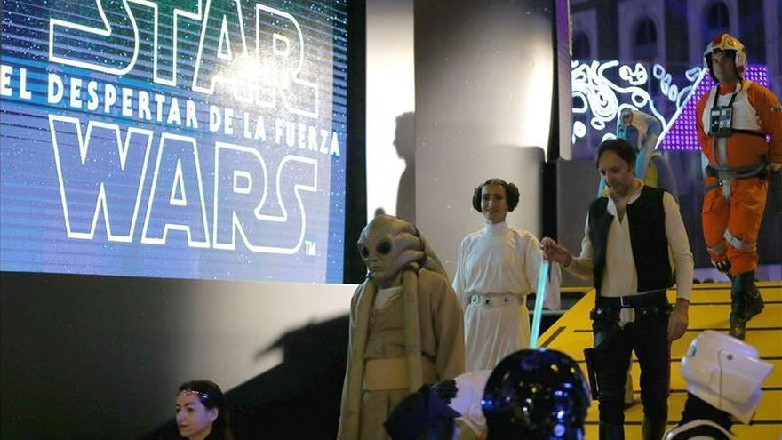 """""""Star Wars"""", 418.000 espectadores y 3 millones de euros recaudados en el estreno"""