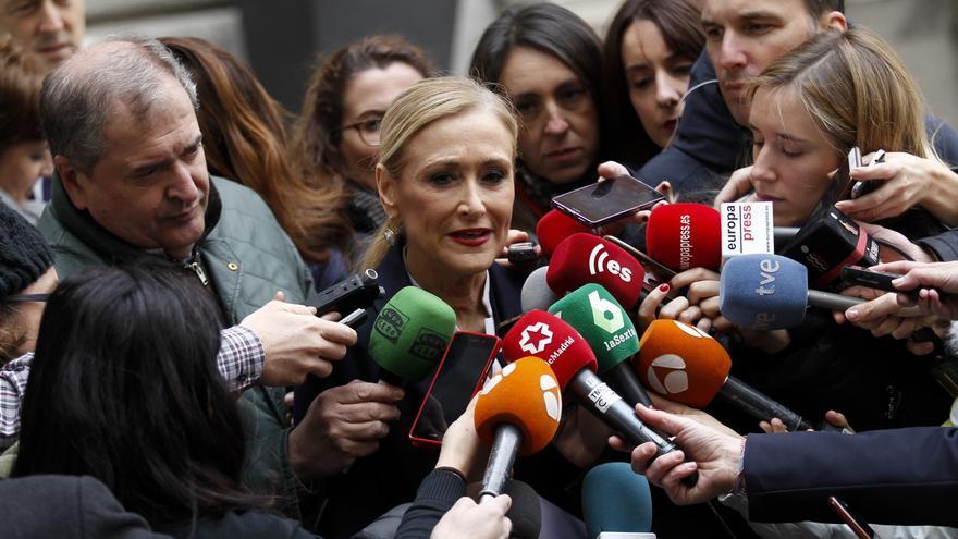 Las diferencias entre TVE y Telemadrid con el caso Cifuentes: ninguneo y parcialidad VS cobertura total