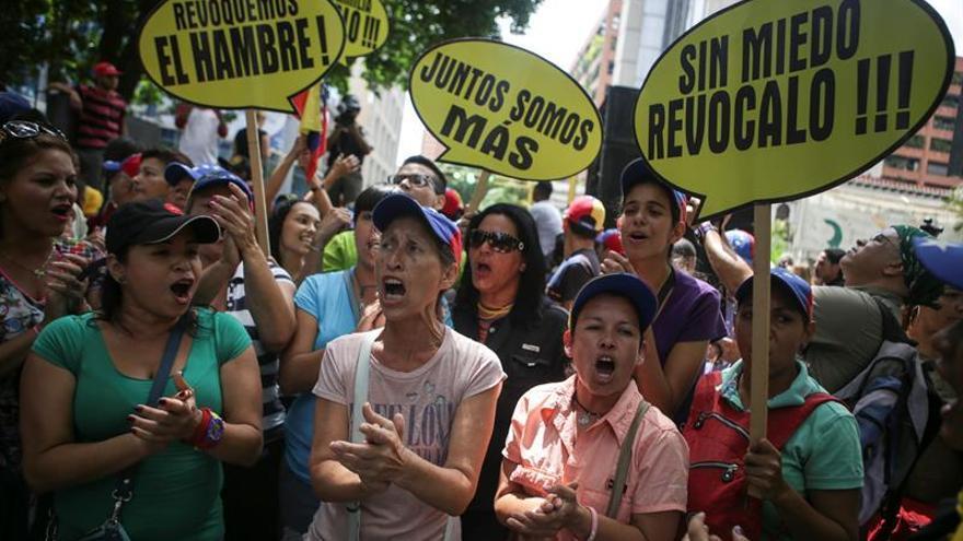 Más de 3.000 protestas se han registrado en Venezuela durante 2016 según ONG