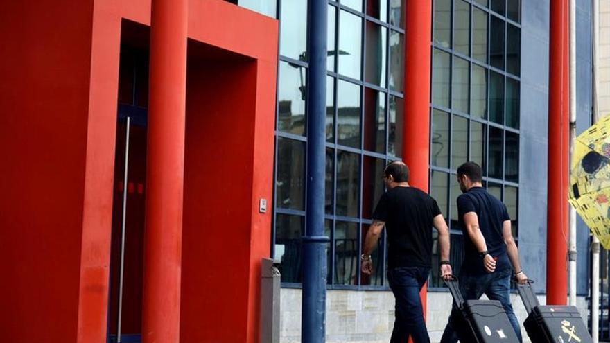 La Guardia Civil acude a la comisaría de Horta de los Mossos para buscar datos del 1-O