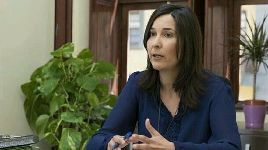 Mónica Martín, primera teniente de alcalde en el Ayuntamiento de La Laguna, del PSOE