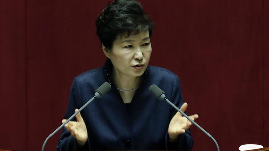La presidenta surcoreana pone su cargo a disposición del parlamento