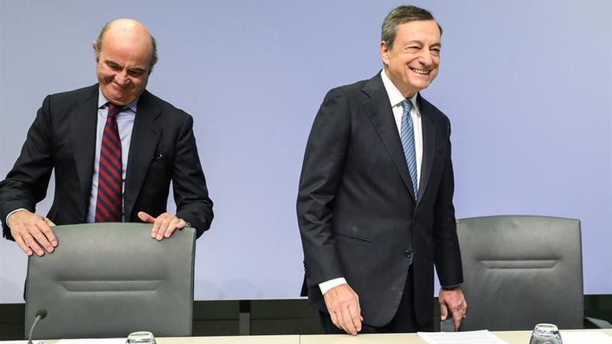 """Draghi: Los últimos datos económicos han sido """"más débiles"""" de lo esperado"""