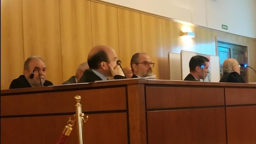 Imagen de la celebración del juicio.