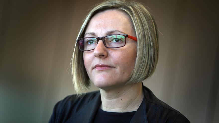 La consellera de Obras Públicas, María José Salvador.
