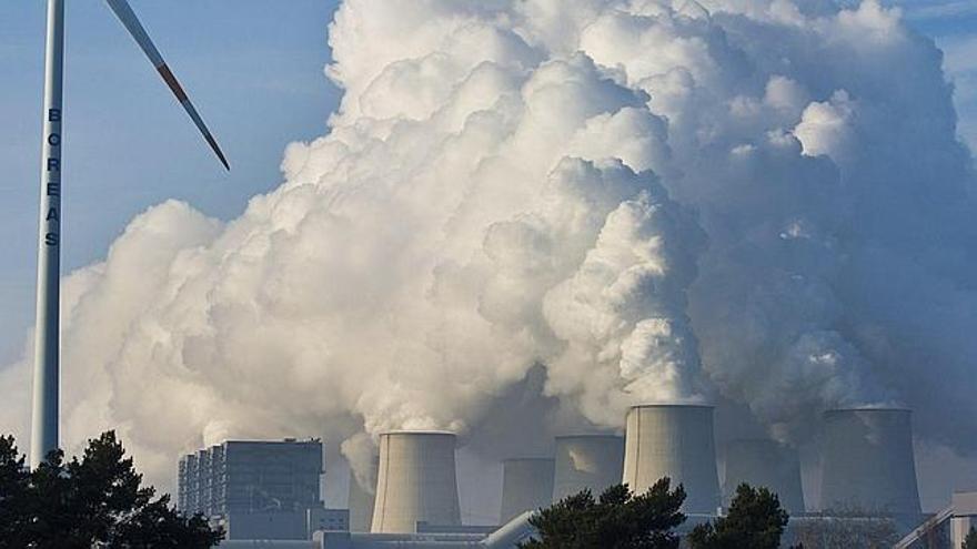 Planta de contaminación. EFE.