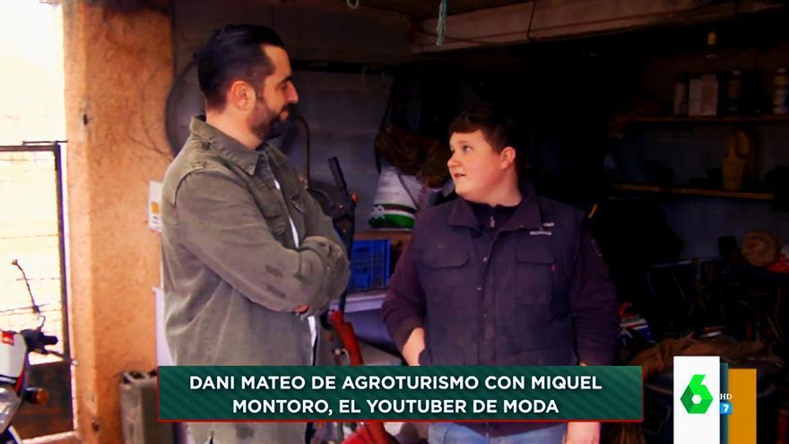 Dani Mateo y Miquel Montoro en 'Zapeando'