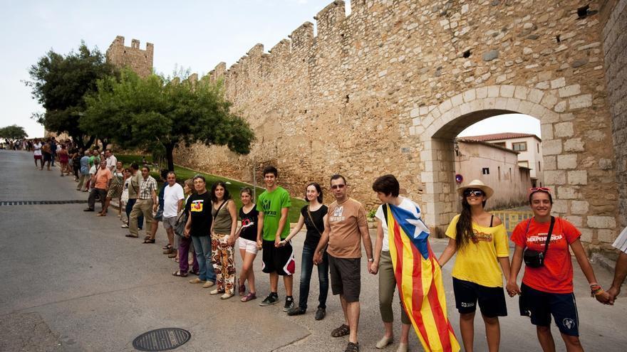 La ANC difunde un video que pide acudir a la 'Via Catalana' en Terres de l'Ebre (Tarragona)