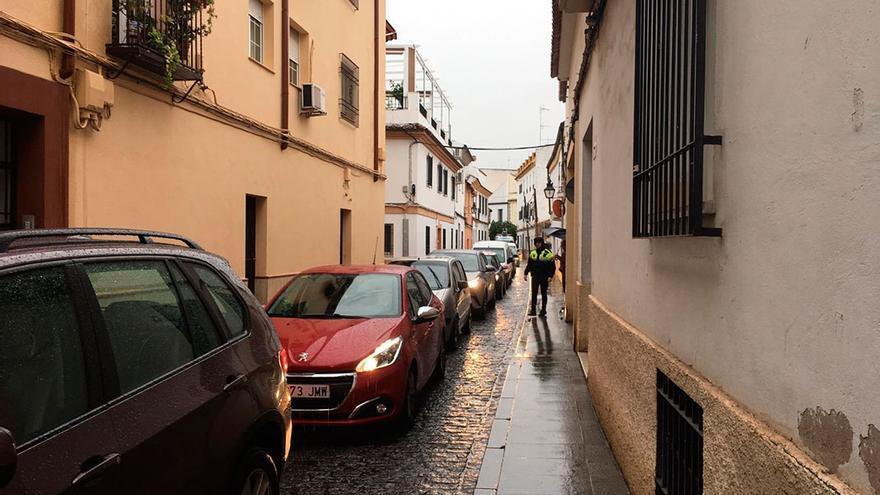 Retenciones de tráfico en San Lorenzo.