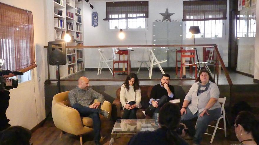 Café Ganemos Ciudad Real y Podemos Castilla-La Mancha