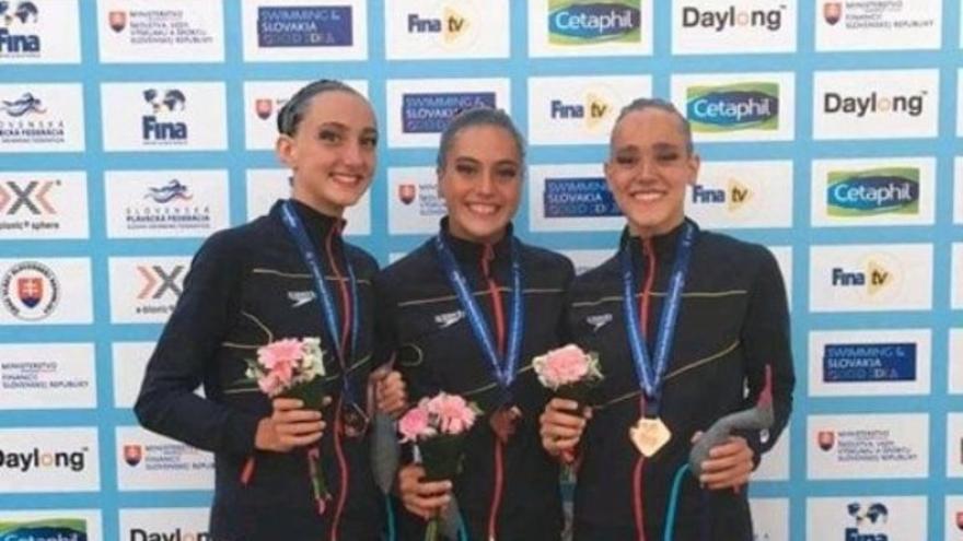 Nadadoras de sincronizada