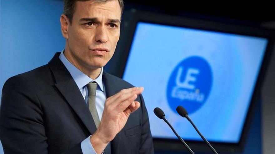 Sánchez llega a Ferraz para seguir el escrutinio de las elecciones andaluzas