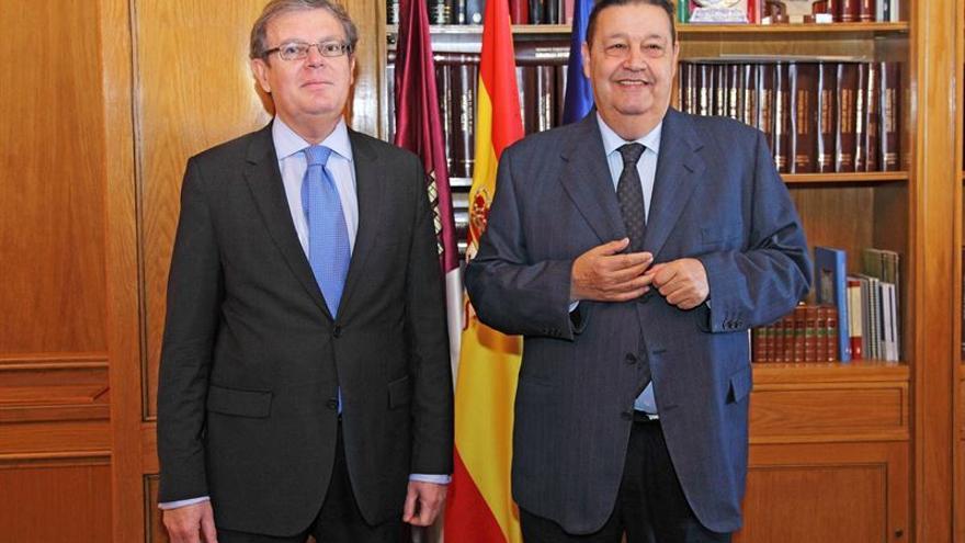 Miguel Ángel Collado y Jesús Fernández Vaquero / Foto: EUROPA PRESS