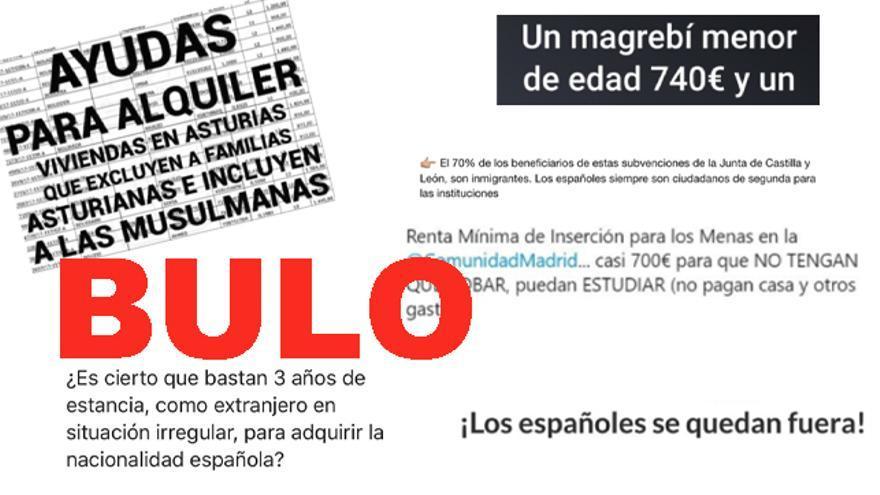 Los bulos sobre inmigrantes se extienden por toda España, normalmente se repiten y solo varía el municipio o año del que se habla.