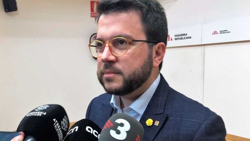 "Aragonès afirma que la juez del 1-O quiere ""convertir el independentismo en un delito"""