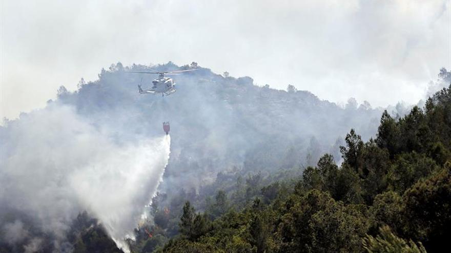 Los grandes incendios quemaron en 2015 un 48% mas que en los últimos 10 años